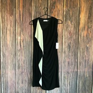 Calvin Klein Cascade Ruffle Dress